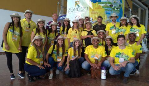 Já está em Alagoas a equipe Unit que participa da expedição do Projeto Rondon