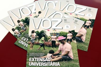 Extensão universitária pauta edição do Voz