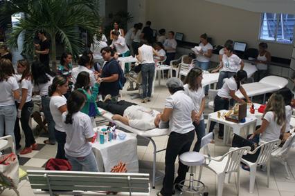 Estudantes participam do Sarauteca da Beleza