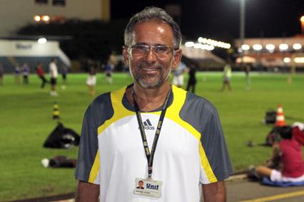 O coordenador de esportes da Unit, Antônio César