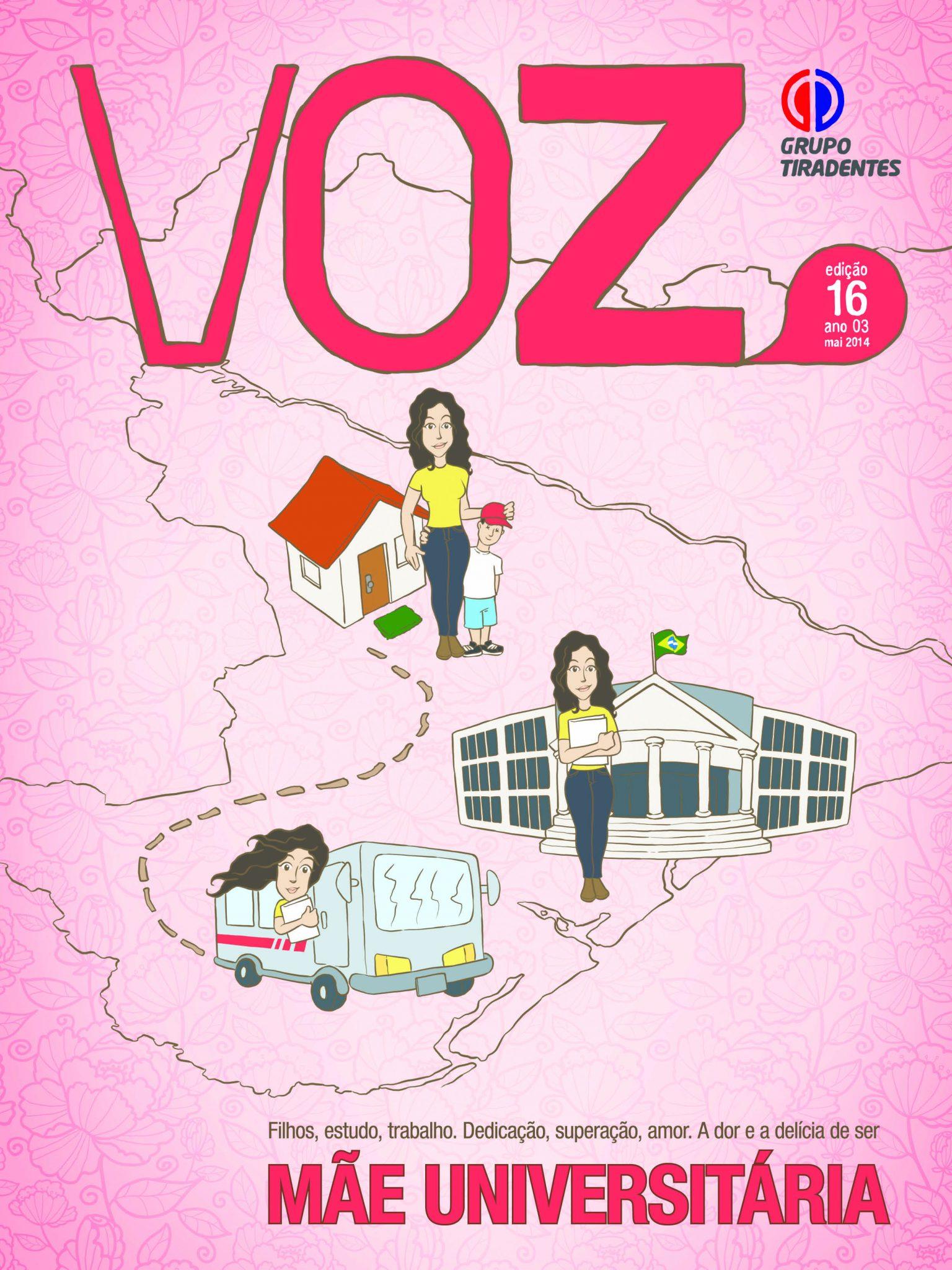 Mães estudantes ganham destaque no Voz de maio