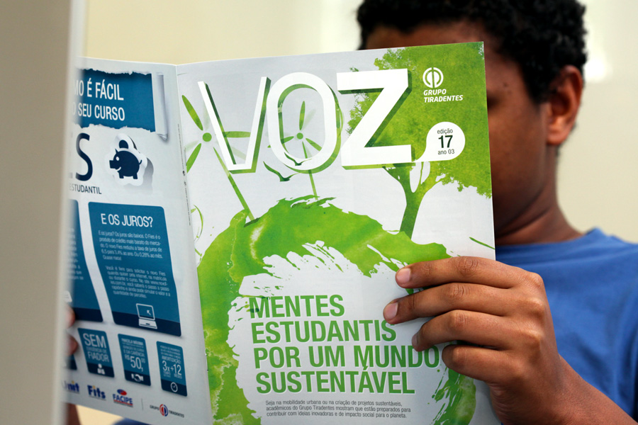 Jornal Voz destaca ações em prol do meio ambiente