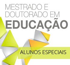 Inscrições abertas para disciplinas optativas para mestrado e doutorado em Educação