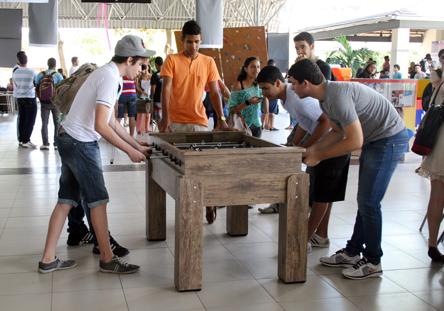 Estudantes Unit participam de Fun Time