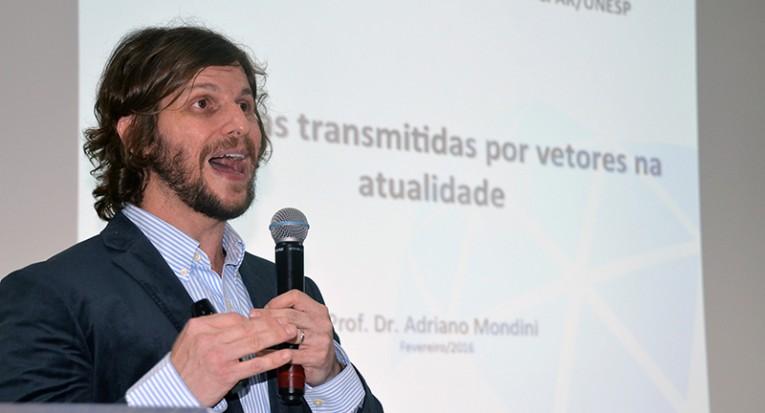 Adriano Mondini falou sobre dificuldade de produzir vacina contra a dengue