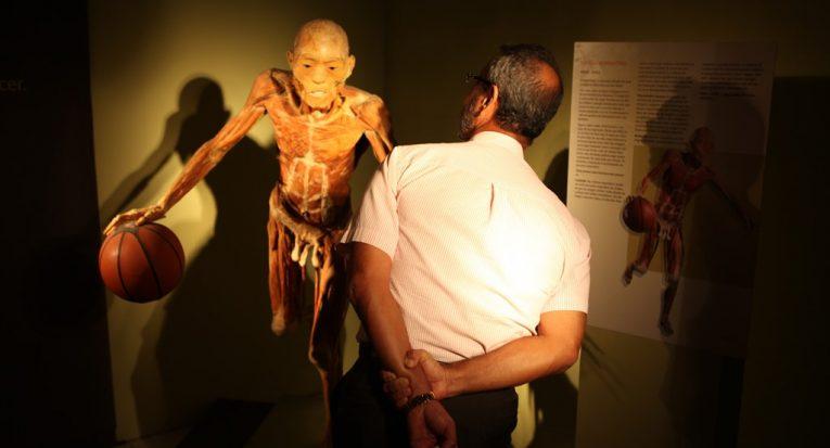 É a primeira vez da exposição em Aracaju