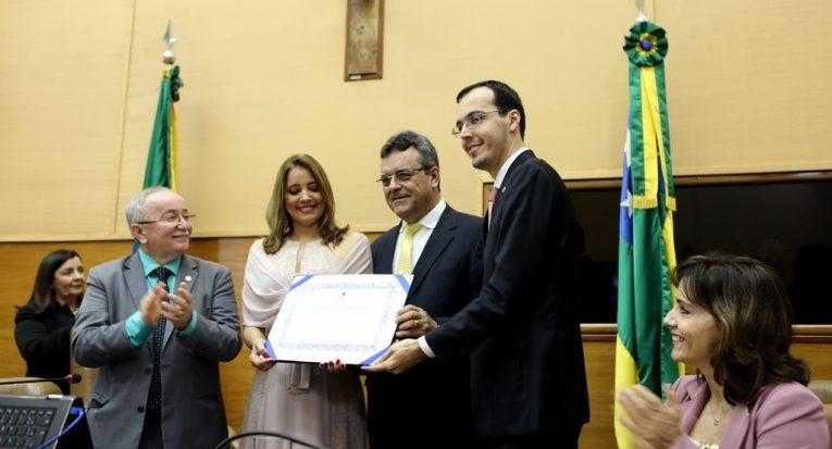 Entrega do Título de Cidadania Sergipana