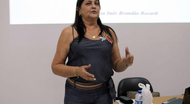 A professora Maria Inês Brandão Bacardi
