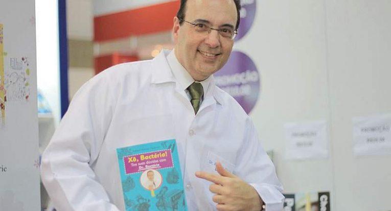 Dr Bactéria fará palestra em Aracaju