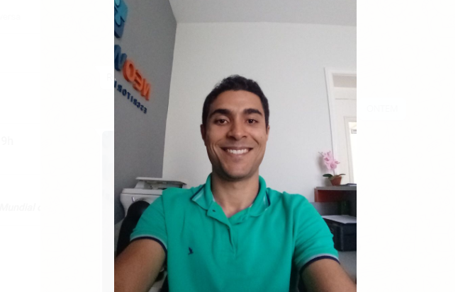 Ricardo Macedo, que além de empreendedor social, é empresário e doutorando em Ciência da Propriedade Intelectual