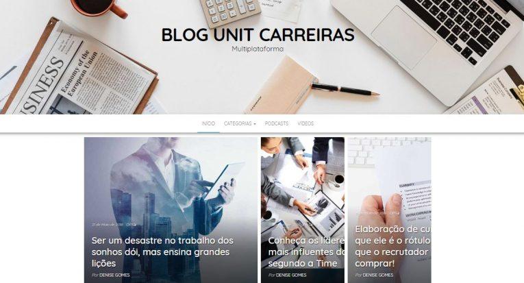 Blog Carreiras traz conteúdos exclusivos sobre o universo do mercado de trabalho