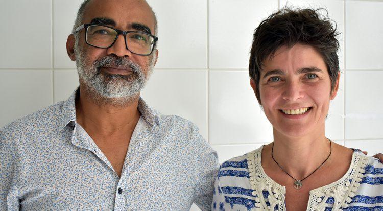 Os doutores Ronaldo Linhares e Ana Isabel Rodrigues