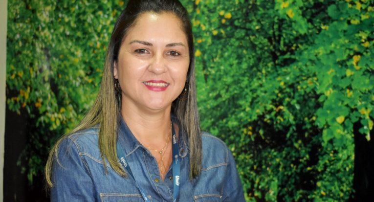 Coordenadora do programa Conduta Consciente, professora Luciana Rodrigues