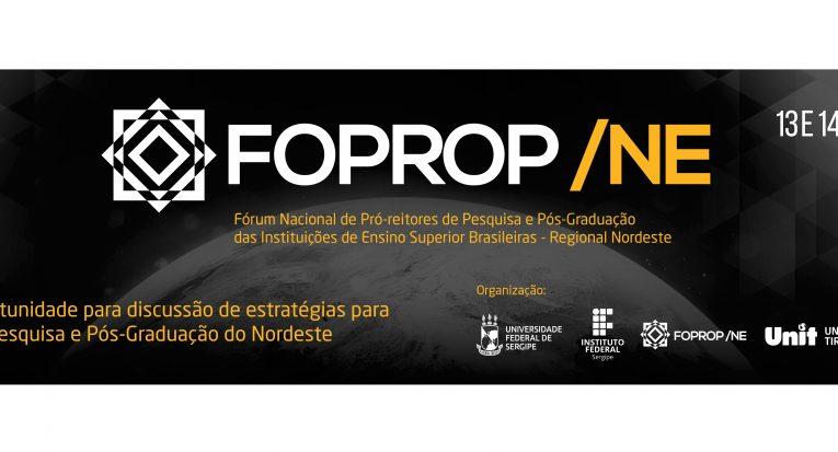 Fórum Nacional de Pró-Reitores de Pesquisa e Pós-graduação das Instituições de Ensino Superior Brasileira - Nordeste será em SE
