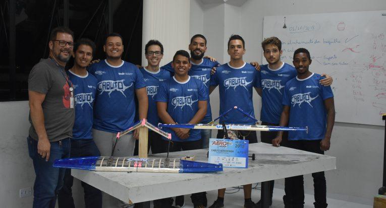 Equipe Cabuto representou Sergipe em evento nacional de aerodesign