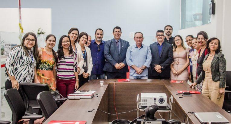 Representantes de nove instituições de ensino técnico e superior firmaram convênio com a Secretaria de Estado de Saúde ( Foto- Flávia Pacheco)