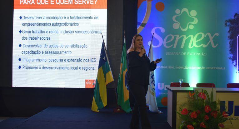 A professora doutora Crislene Rodrigues da Silva Morais, professora titular da Universidade Federal de Campina Grande, falou de sua experiência no empreendedorismo