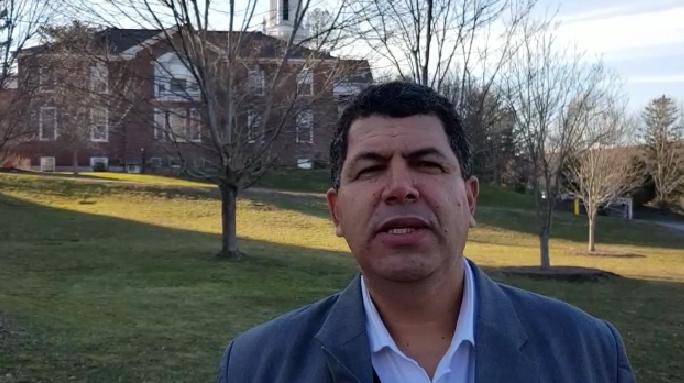 O superintendente do Grupo Tiradentes, professor Saumíneo Nascimento
