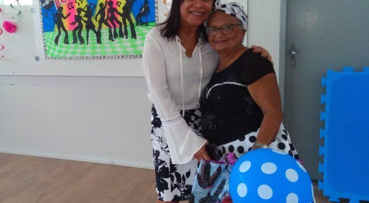 Eliete Conceição Moreira ,eleita a participante mais animada