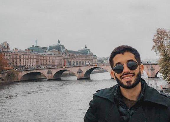 Leonardo Lisboa, aluno de Engenharia de Petróleo da Unit, está em Portugal estudando por meio do Programa de Mobilidade Internacional