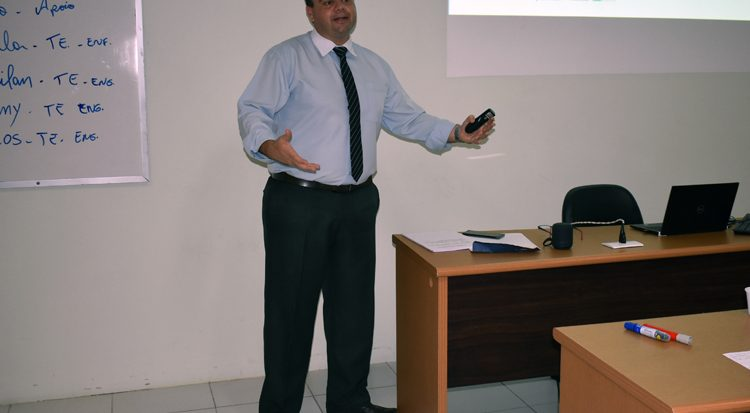 Rafael Porto de Freitas, responsável pelo treinamento