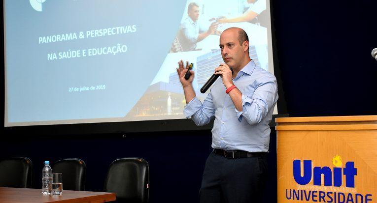 Gustavo Prado representou o hospital de São Paulo