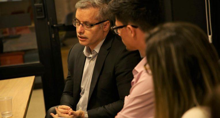 Superintendente de Inovação, Pesquisa e Educação do Hospital Alemão Oswaldo Cruz, professor Kenneth Almeida