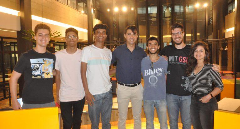 Alunos  do Programa MIT Global Startups Labs , Conselheiro Presidente Naldson Melo, Instrutor Bruno Moschetta