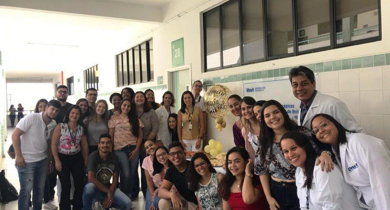 Os professores Marcelo Nery, Cinthia Meireles, Adriana Karla de Lima, Juliana Cordeiro, Monica Almeida, Alessandra Rabelo e Ingrid Siqueira pro