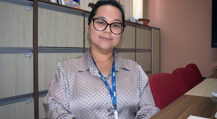 Karen Sazaki, gerente acadêmica de Educação a Distância