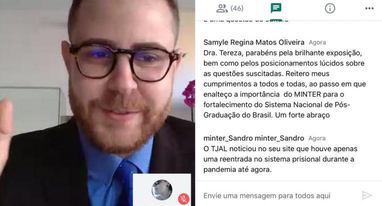 Pró-reitor de Pesquisa, Pós-Graduação e Extensão, Diego Menezes
