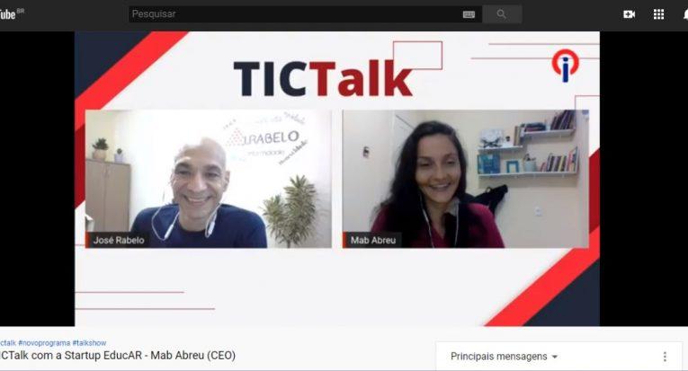 Mad Abreu foi a primeira convidada do TIC Talk