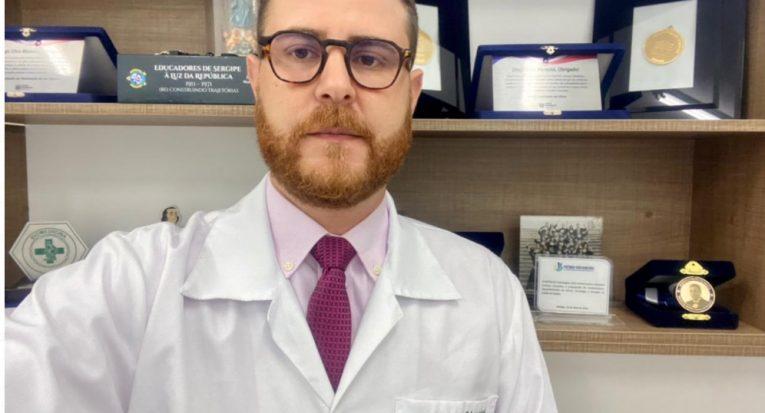 Natural de Salvador, professor Dr. Diego Menezes receberá Título de Cidadania Sergipana pela Alese