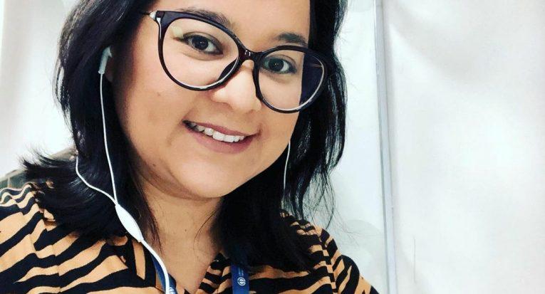 Gerente acadêmica de Educação a Distância da Universidade Tiradentes, professora Karen Sasaki